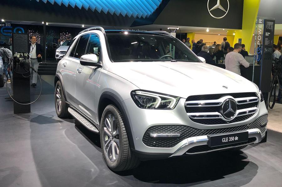 Mercedes-Benz GLE 350de at Frankfurt 2019 - side