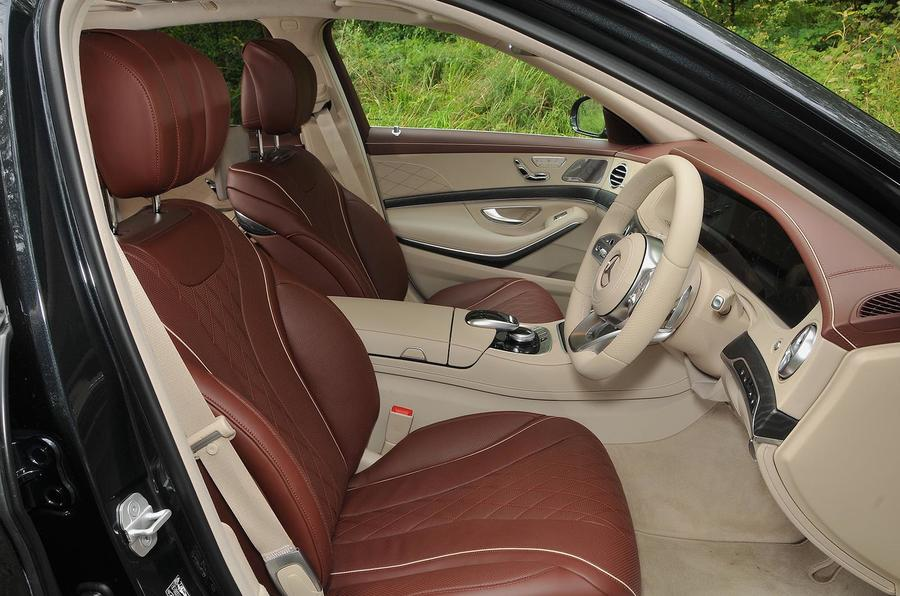 Mercedes-Benz S350d interior