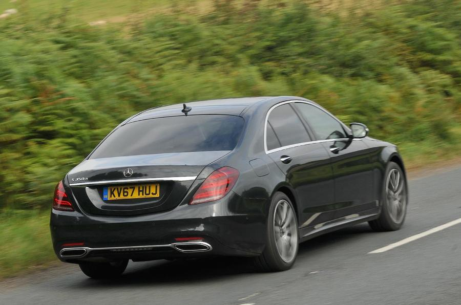 Mercedes-Benz S350d rear