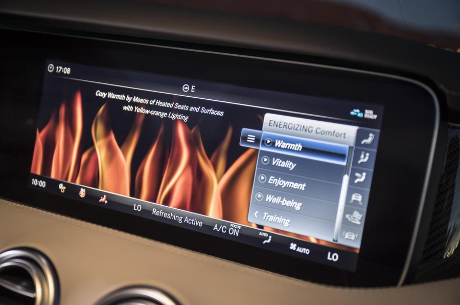 Mercedes-Benz S560 Coupé infotainment system