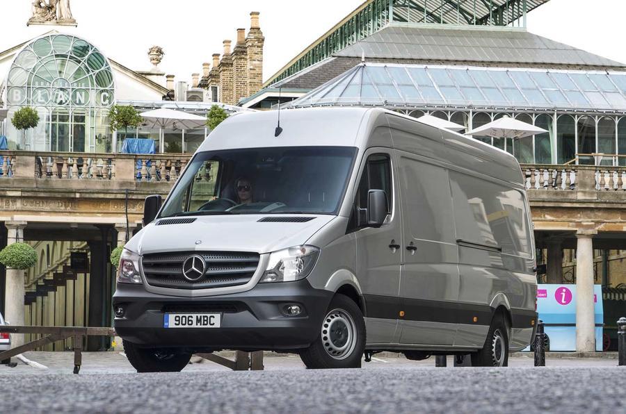 Electric Mercedes Sprinter to take on Tesla's cargo van ...