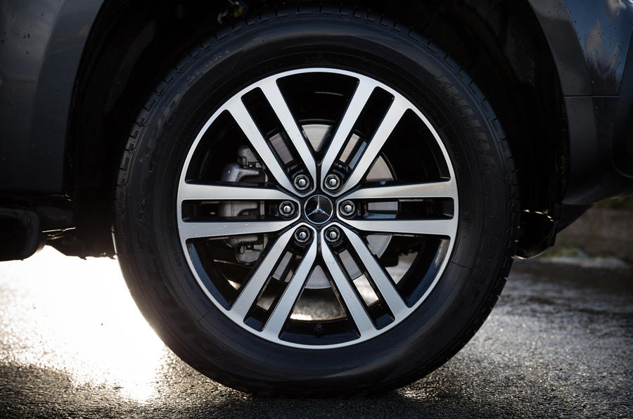 Mercedes-Benz X-Class alloy wheels