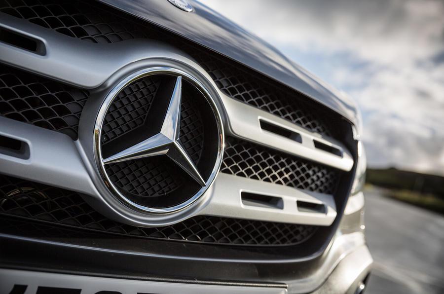 Mercedes-Benz X-Class badging