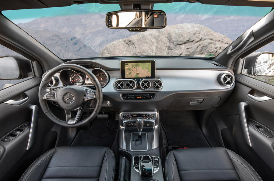 Mercedes-Benz X-Class dashboard