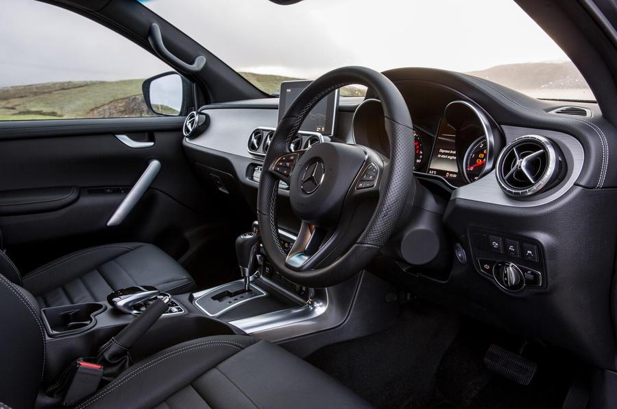 Mercedes x class interior