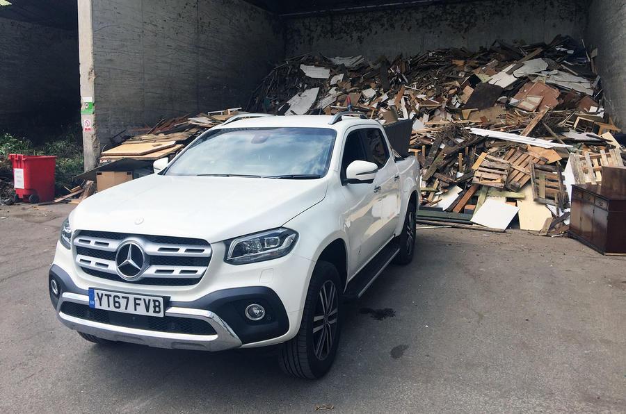 Mercedes-Benz X-Class longterm review at the dump