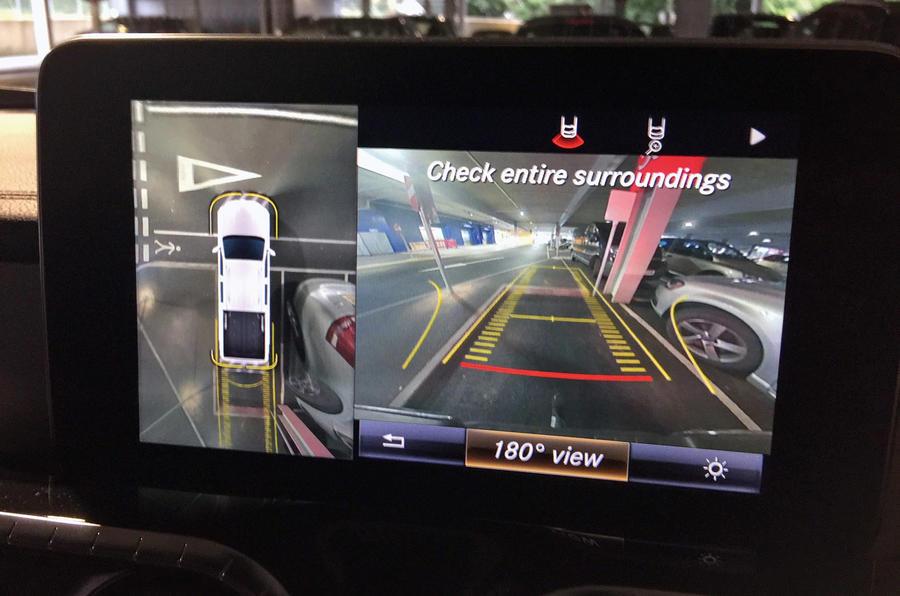 Mercedes-Benz X-Class longterm review reversing camera