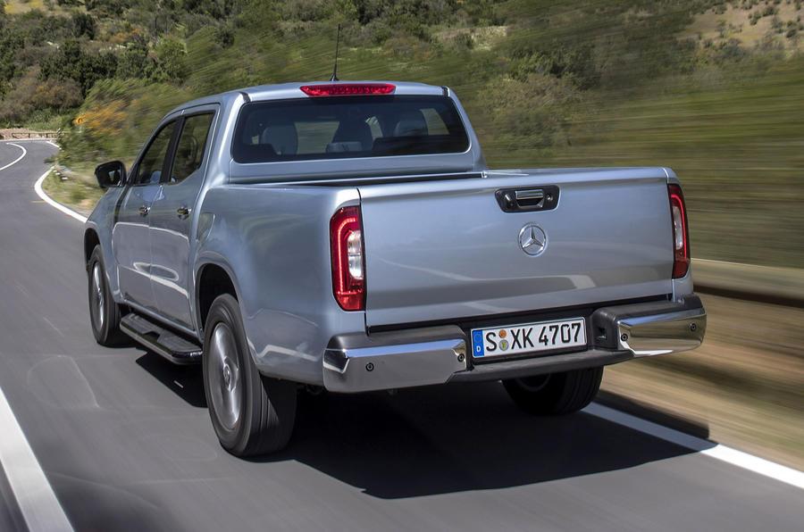 Mercedes-Benz X-Class rear