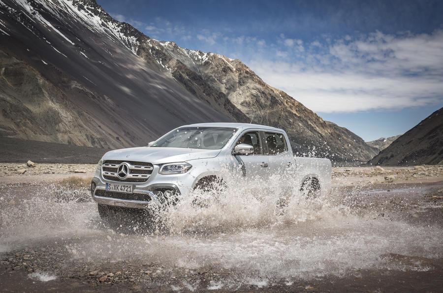 Mercedes-Benz X-Class wading