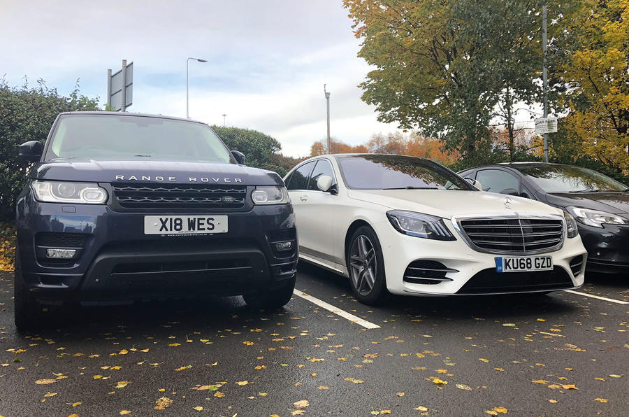 Mercedes-Benz S-Class S500L 2018 long-term review - parking spaces