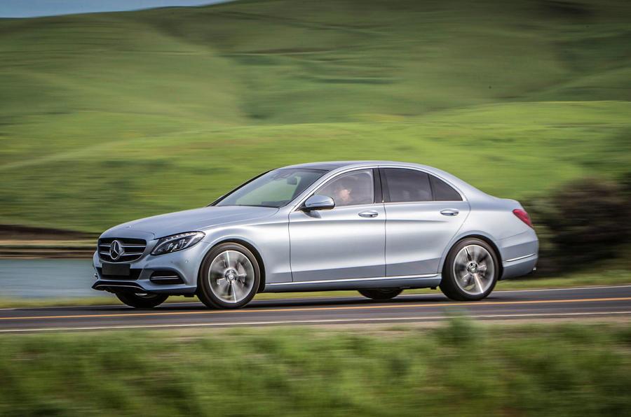 2015 mercedes benz c 350 e review review autocar for Mercedes benz c class hybrid