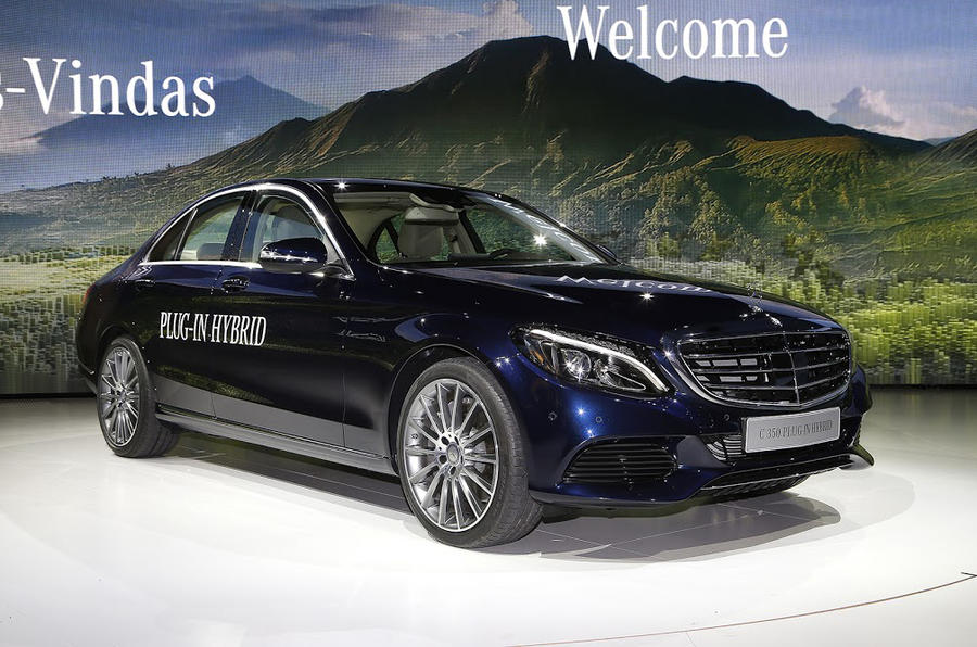 mercedes c350 plug in hybrid added to c class range autocar. Black Bedroom Furniture Sets. Home Design Ideas