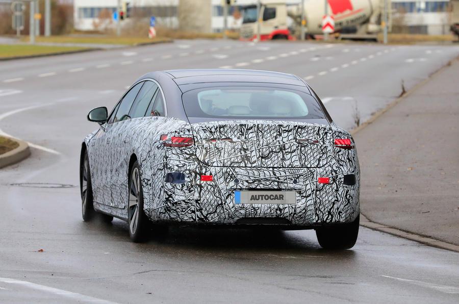 Mercedes EQS prototype796