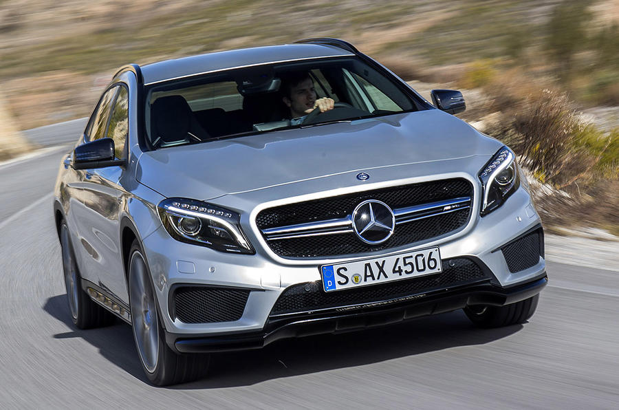 mercedes-benz cla45 and gla45 amg to get upgraded engine | autocar