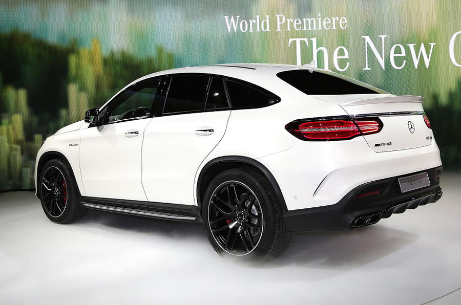 Hot Mercedes Amg Gle63 Coup 233 Revealed At Detroit Show