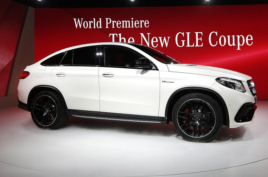 Hot Mercedes Amg Gle63 Coup 233 Revealed At Detroit Show Autocar