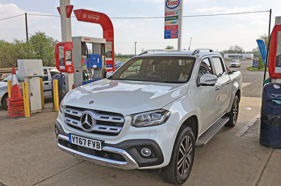 Mercedes-Benz X-Class longterm review fuel pump
