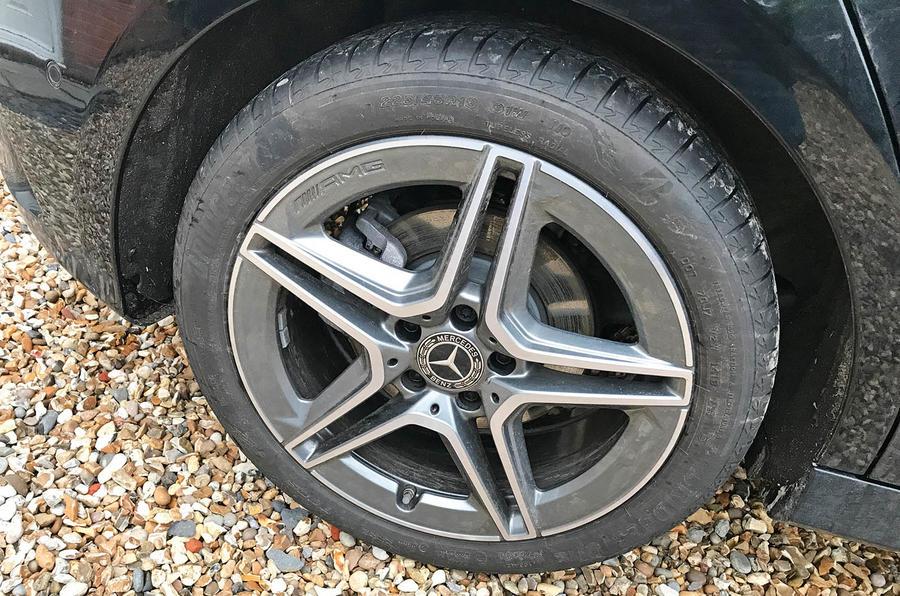 Mercedes A-Class long-term review - A200 alloy wheels
