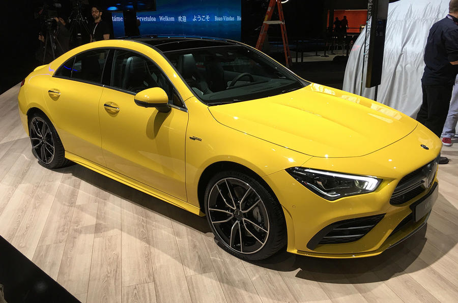 Mercedes-AMG CLA35 - New York motor show 2019 - lead