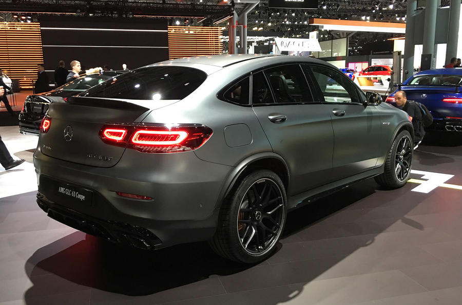 Mercedes-AMG GLC63 - New York Motor Show 2019 - three quarters