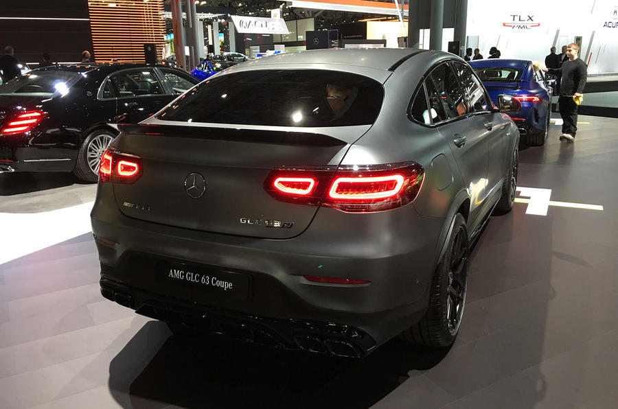 Mercedes-AMG GLC63 - New York Motor Show 2019 - rear