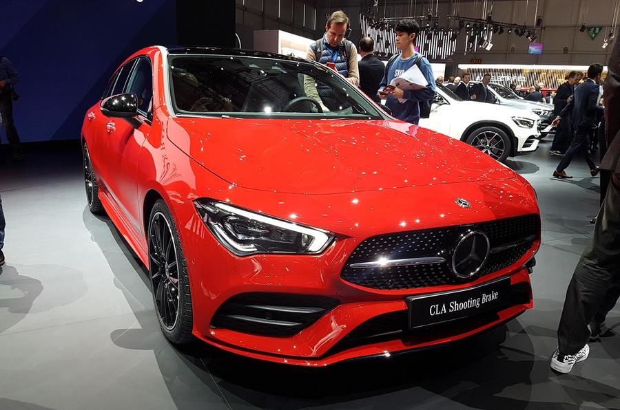 Mercedes-Benz CLA Shooting Brake Geneva - front end