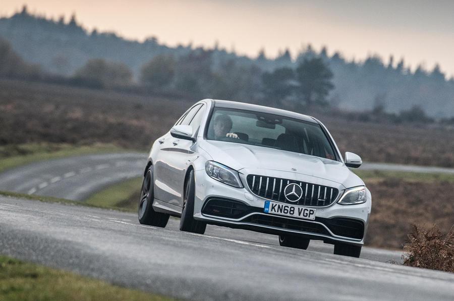 Mercedes-AMG C63 S 2018 oversteer