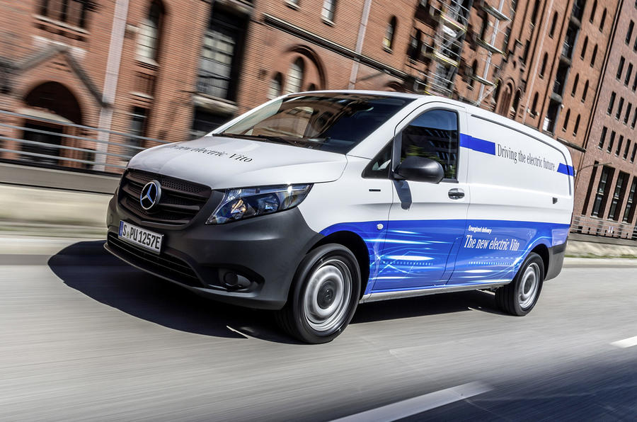 Mercedes Benz Eqv Electric People Carrier Due At Geneva