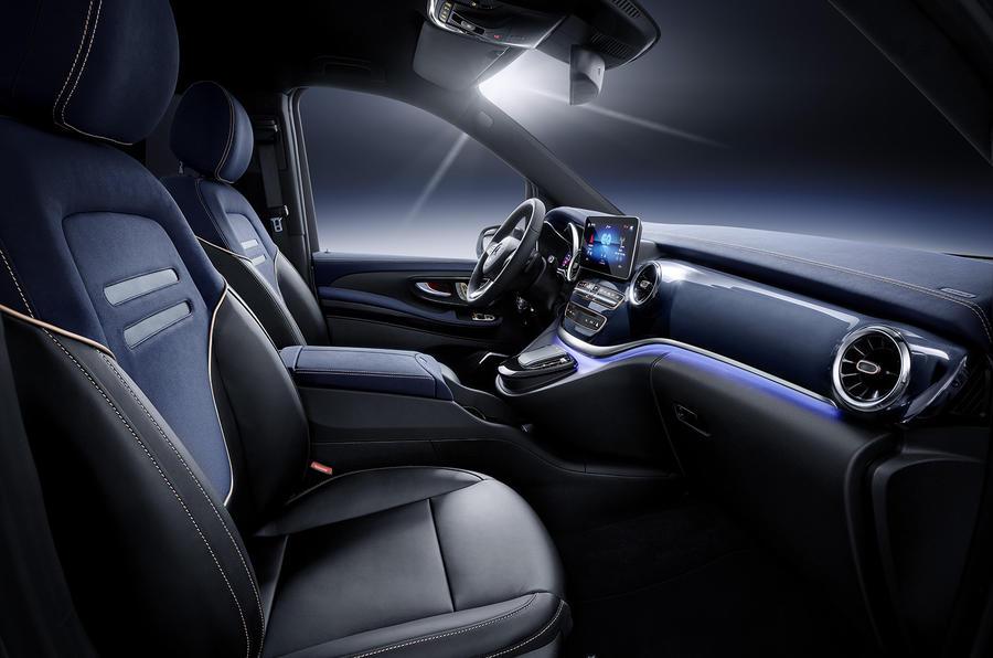 Mercedes EQV concept - interior