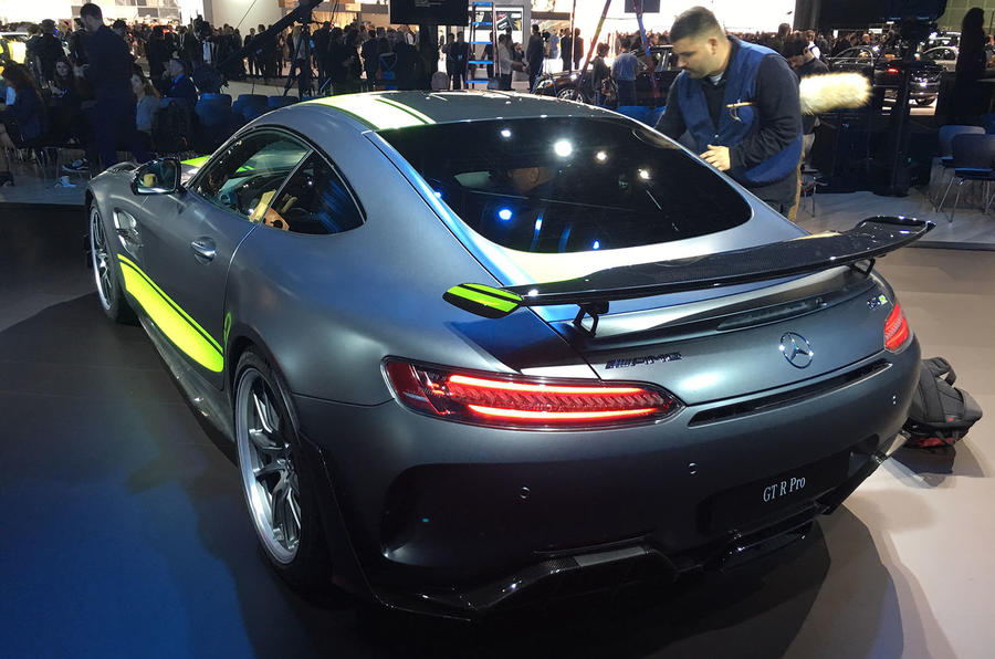 Mercedes-AMG GT R Pro LA motor show - stand rear