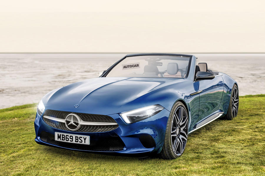 Mercedes-Benz 2020 SL render
