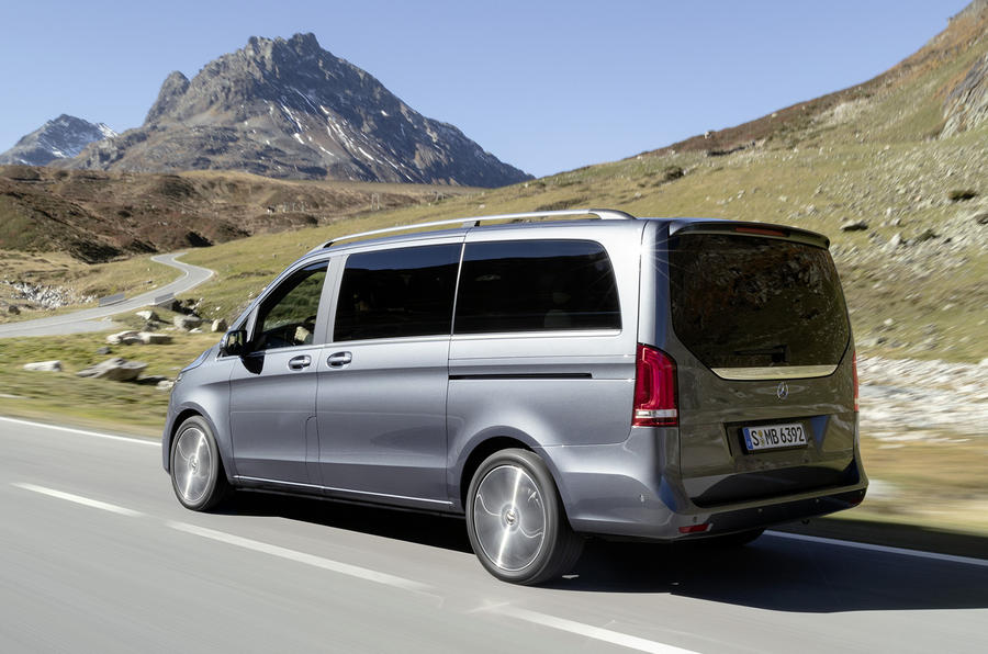 Mercedes-Benz V-Class facelift revealed