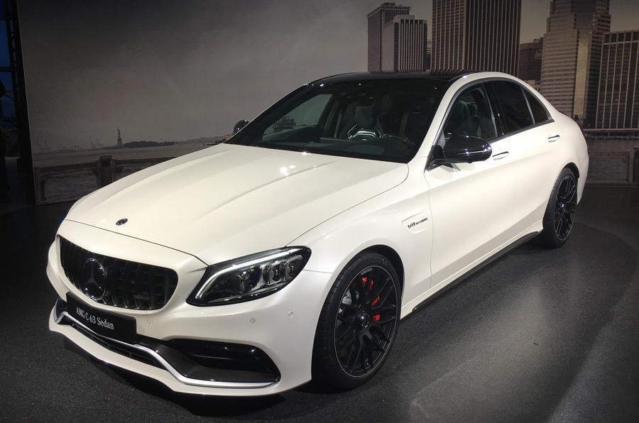 updated mercedes amg c63 gets dynamic and interior revamp autocar. Black Bedroom Furniture Sets. Home Design Ideas