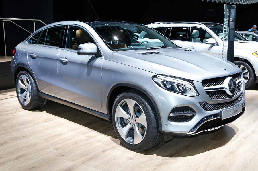 Mercedes Benz Gle Coup On Display At Detroit Motor Show
