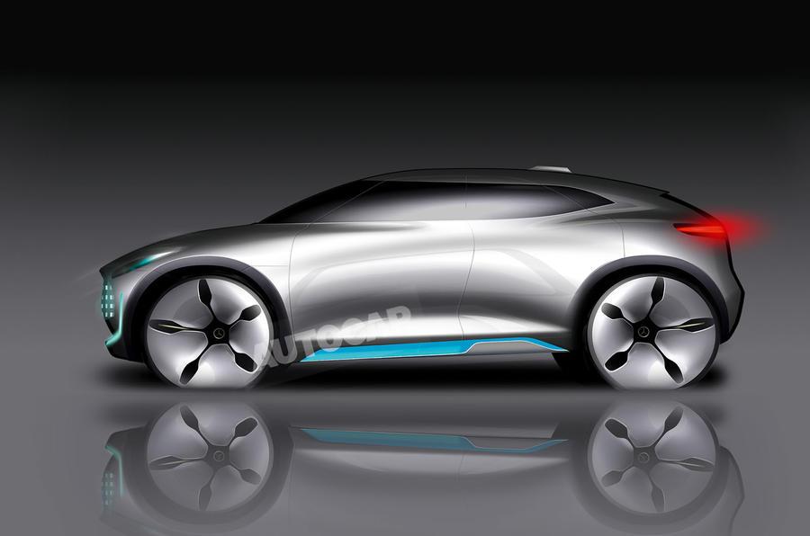 Mercedes EQ sub brand rendering Autocar
