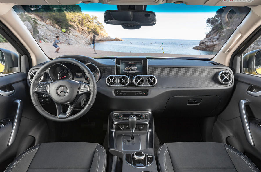 Mercedes-Benz reveals plush X-Class pick-up