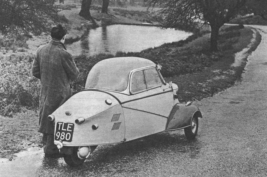 Messerschmitt KR200 rear