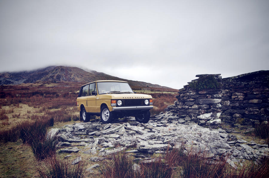1978 two-door Range Rover