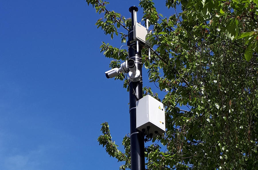 Midlands Future Mobility Scheme CCTV camera