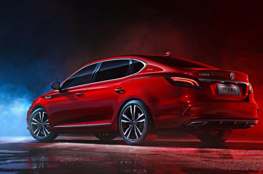 2018 MG 6 revealed to Chinese market