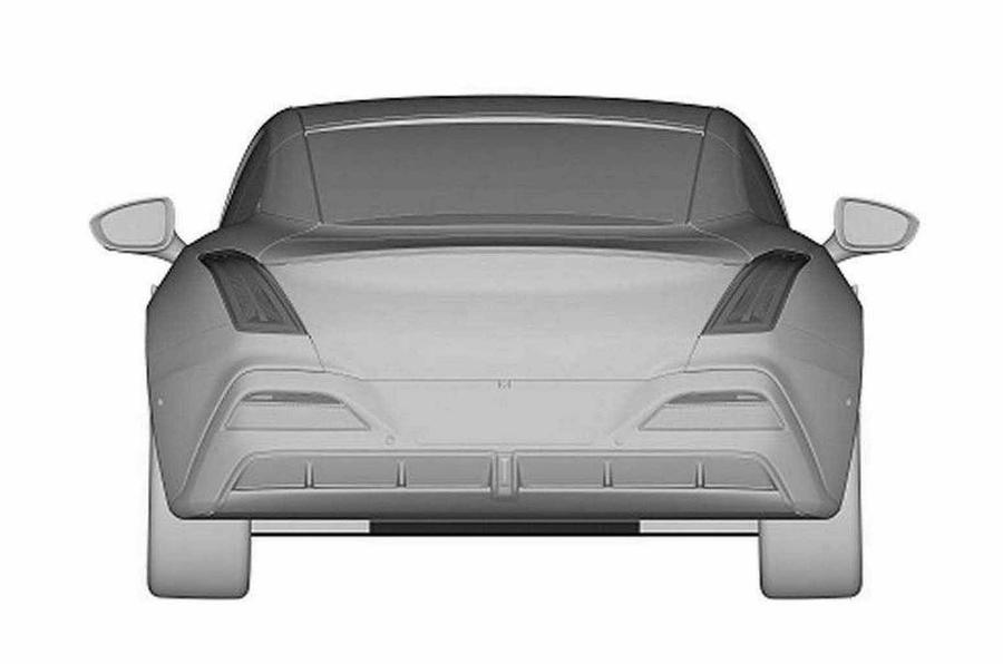 MG e-motion patent rear