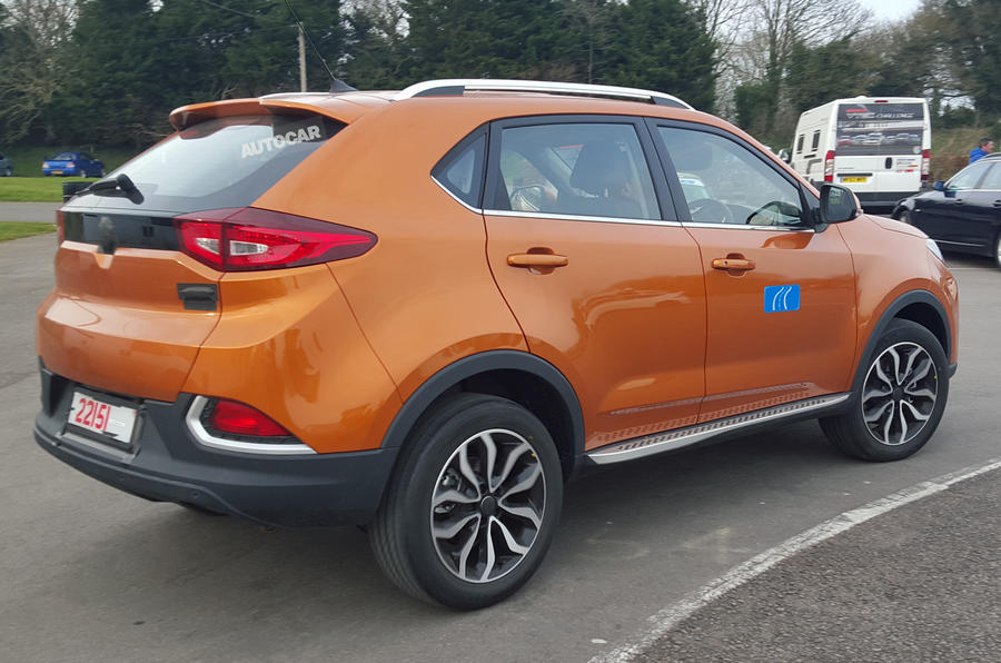 MG GS undisguised