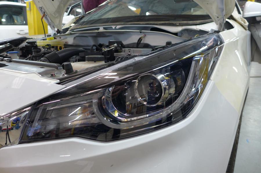 MG3 budget racer