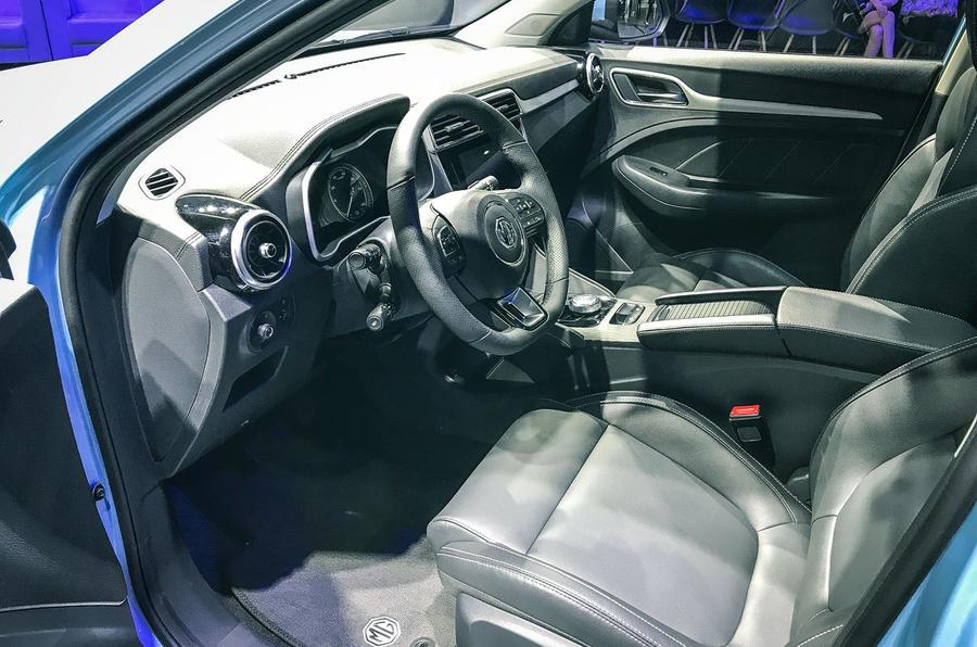 MG eZS interior
