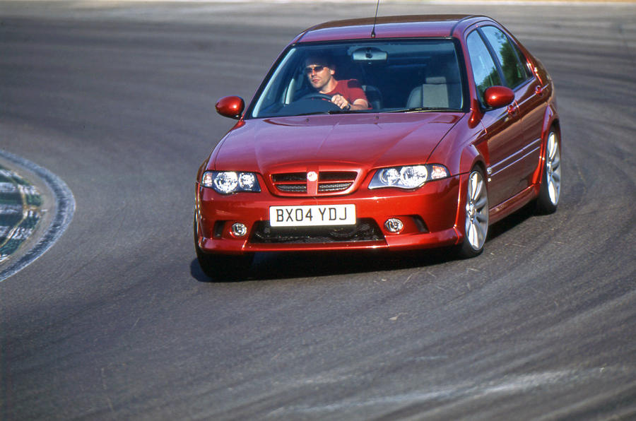 MG ZS 180 cornering