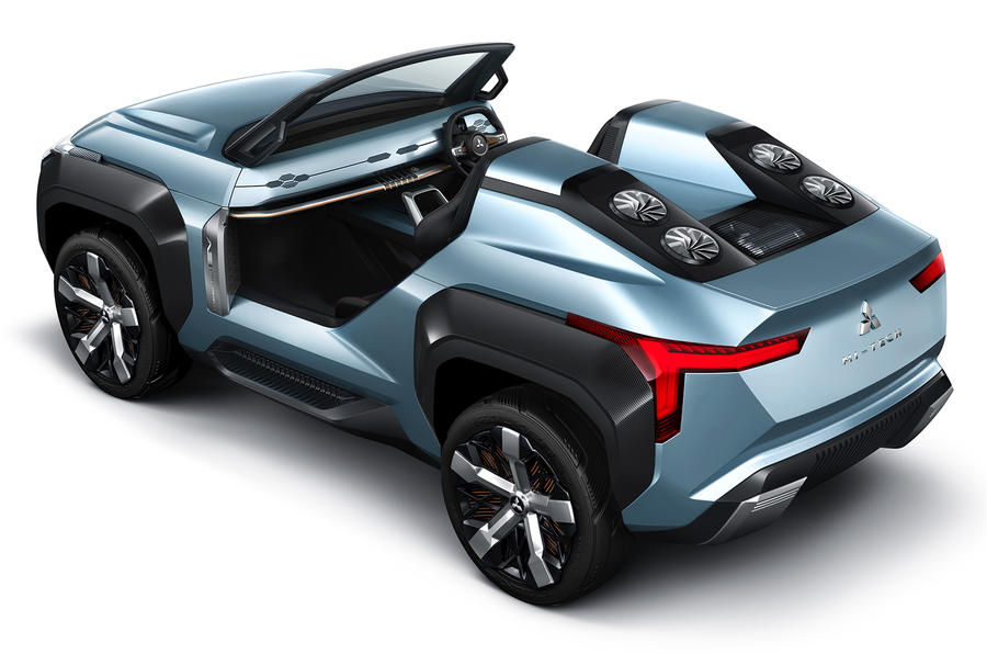 Mitsubishi Mi-Tech concept - rear