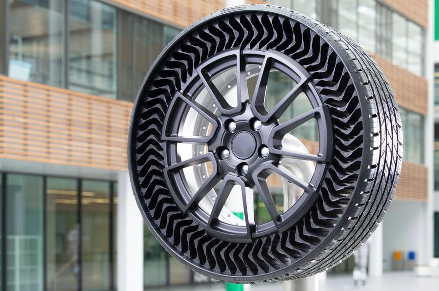 Michelin Uptis tyre concept