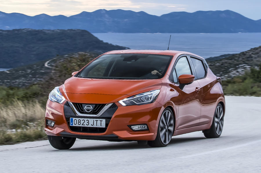 2017 nissan micra ig t 90 tekna review autocar. Black Bedroom Furniture Sets. Home Design Ideas