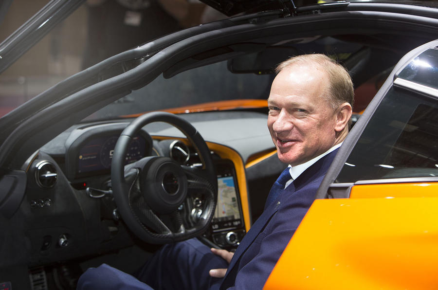 McLaren Q&A with CEO Mike Flewitt