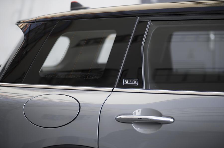 Mini Clubman rear doors